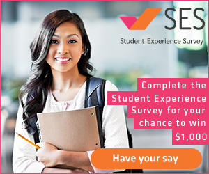 Complete the student experience survey for your chance to win $1000