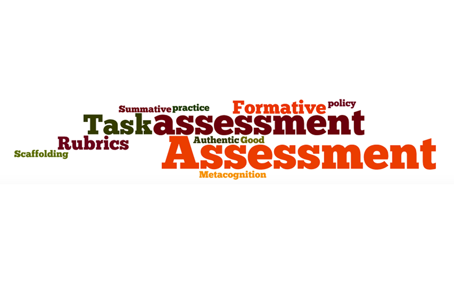 """Assessment wordle"" by Jonathan Feinberg Open licence (Free use permitted)"