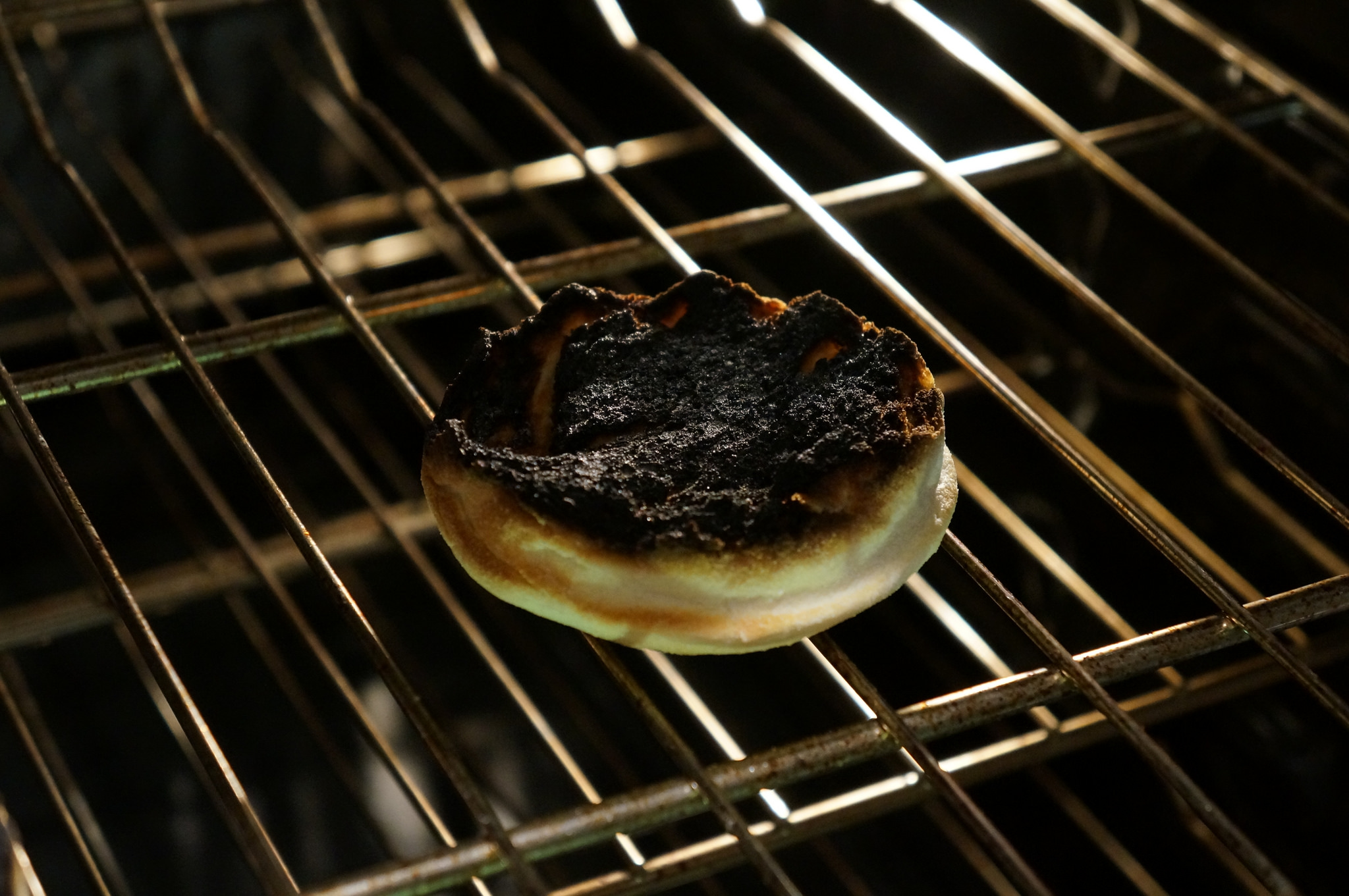 """""""Burnt english muffin"""" by RosieTulips 2014 CC BY-NC-ND 2.0"""