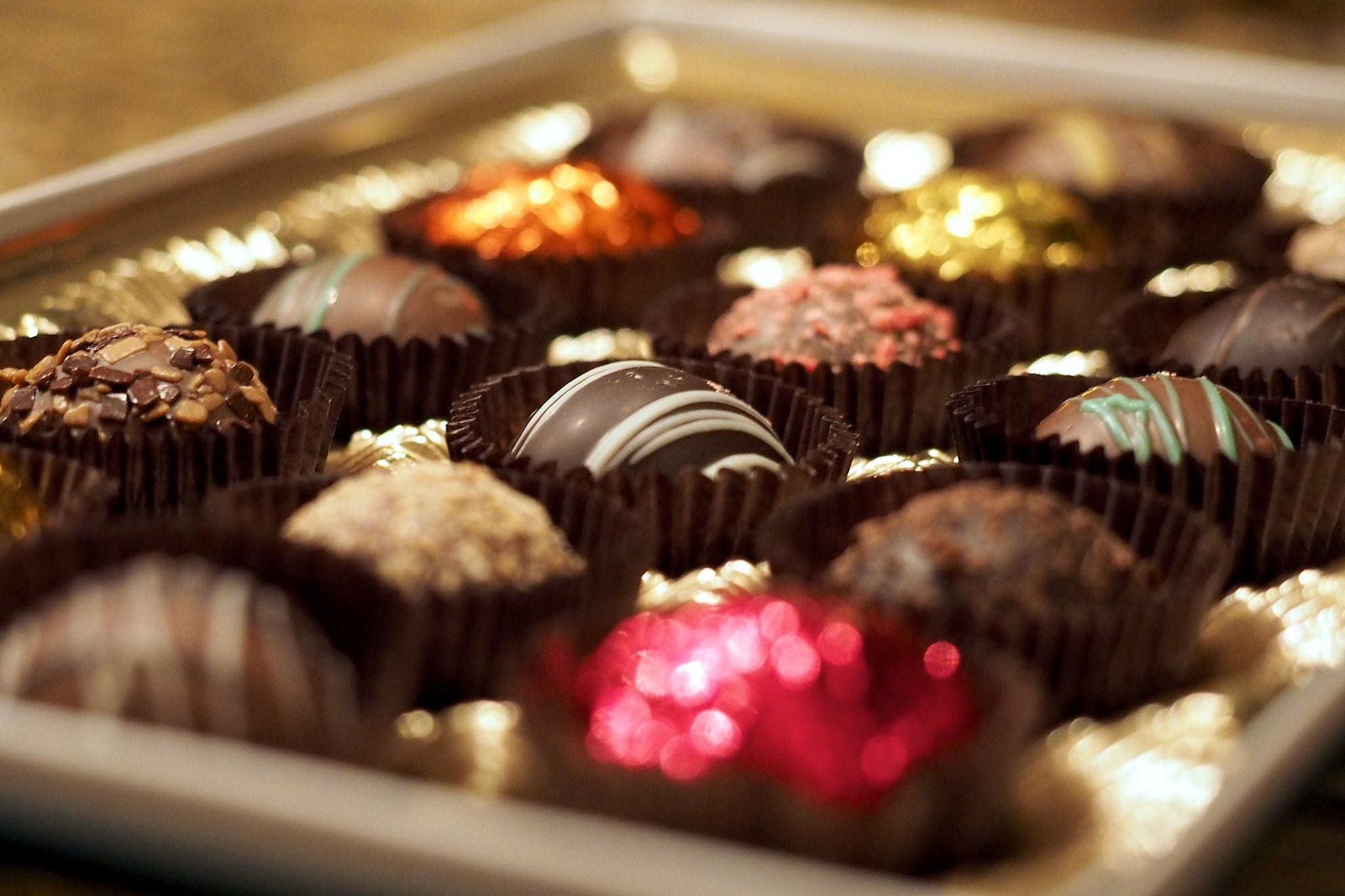 """""""Chocolate truffles"""" by Austin Kirk  CC BY 2.0"""