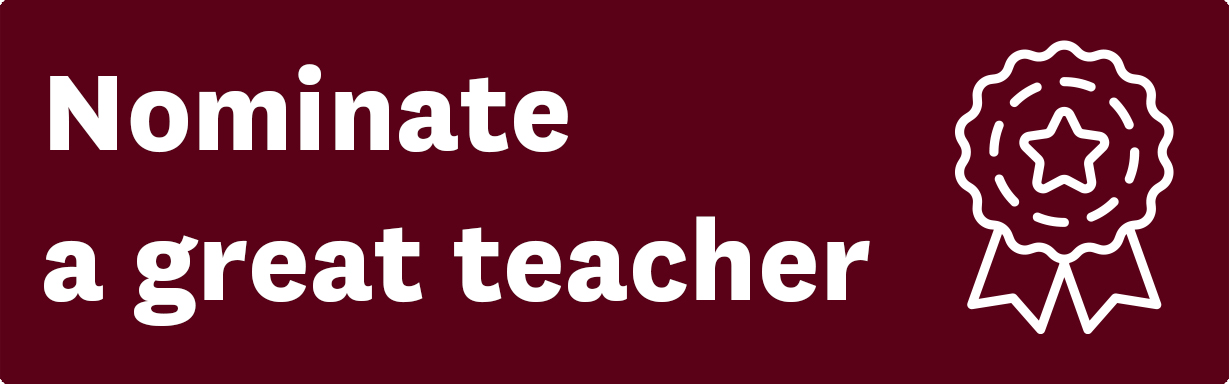 Nominate a great teacher