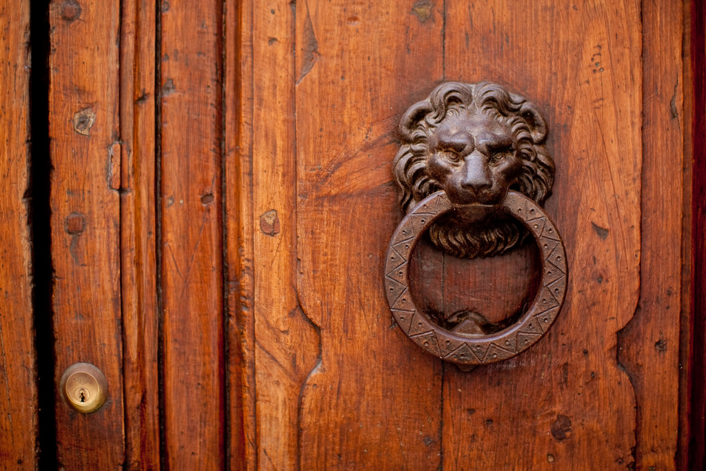 """Door knocker"" by Tim Lawrenz 2009 CC BY-ND 2.0"